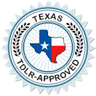 Texas TDLR Approved Course