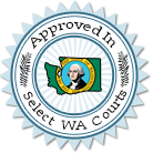 Approved in King, Douglas, Grays Harbor, Clark, Lewis and Kittitas Counties
